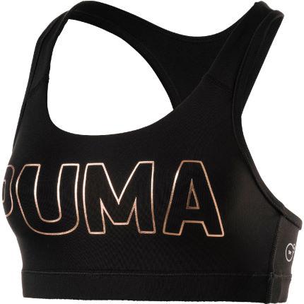 Puma PWRSHAPE Forever Logo Sports Bra white XL £10.04 + £2.99 p&p @ Wiggle