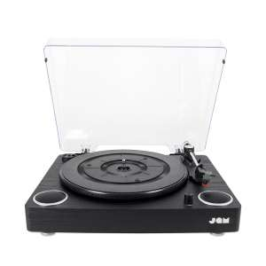 eafe9be529c Jam Play Turntable Vinyl Record Player With Built in Stereo Speakers -  £39.99 Dispatched from