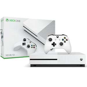 Microsoft Xbox One S 500GB Console (Seller refurbished) for £124.99 @ eBay / stockmustgo