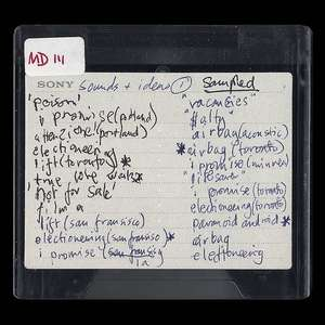 MINIDISCS [HACKED] by Radiohead Free Stream / £21.60 Purchase @ Bandcamp