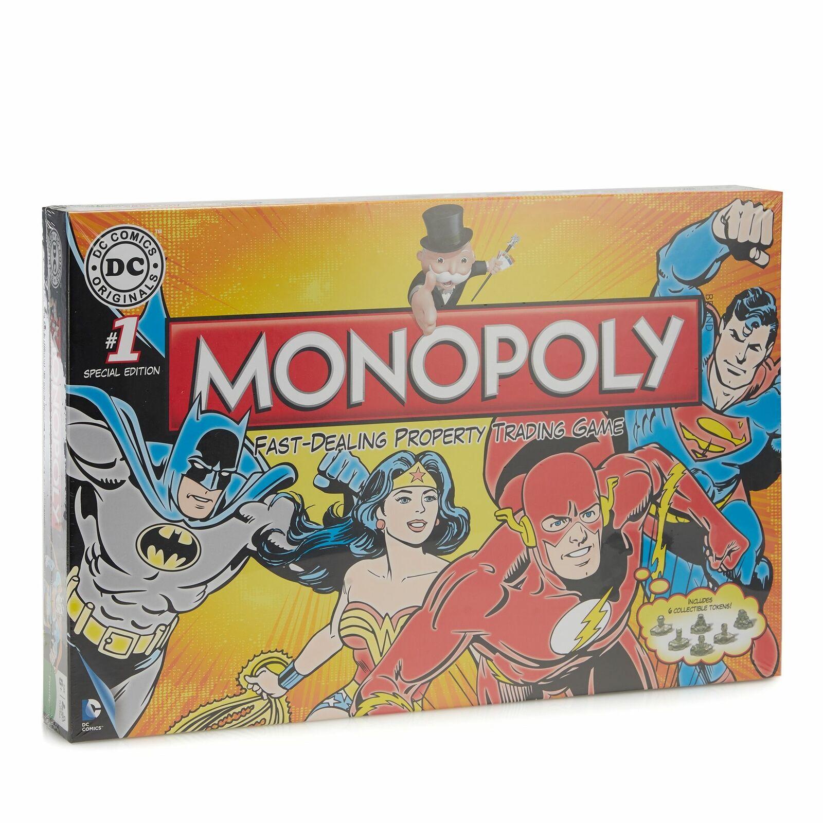 Dc Comics Superheroes Monopoly @ Ebay Sold By Debenhams £12.49 Delivered