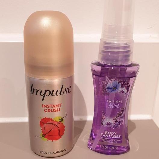 Superdrug travel sized mini fragrance sprays - 15p Each Instore