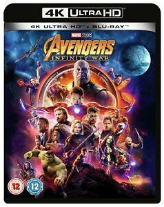 Avengers: Infinity War 4K Ultra HD + Blu-ray - £13.99 delivered @ eBay / Argos
