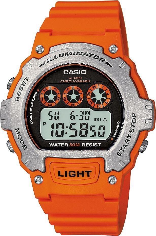 Casio Men's Orange Illuminator LCD Watch (2 Years Guarantee) £8.49 @ Argos