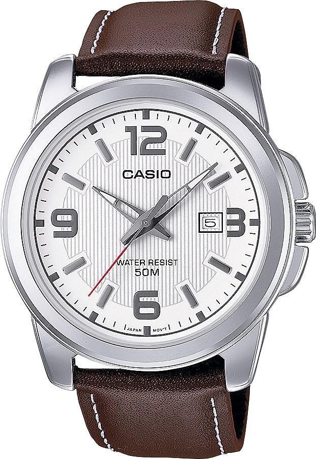 Casio Men's watch (Brown Genuine Leather Strap) £14.99 @ Argos (Free C&C)