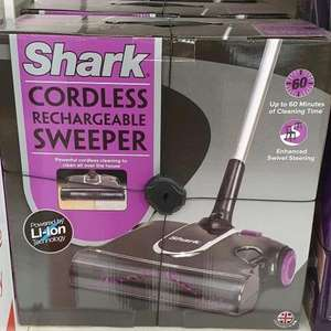 Shark Cordless Rechargeable Sweeper £25 instore @ Sainsbury's