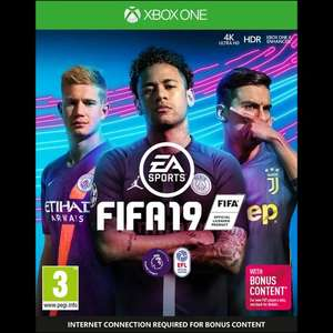 Fifa 19 £15  Xbox One at Morrisons (Blackpool)