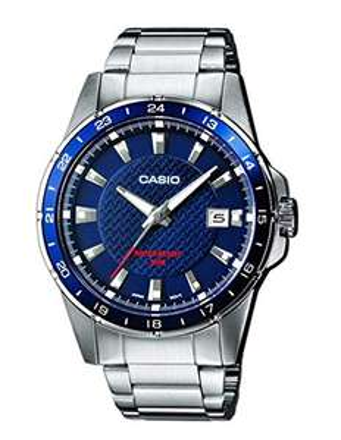 Casio Men's Silver Stainless Steel Bracelet Classic Watch MTP-1290D-2AVEF - £24.99 @ Argos (2 years guarantee)