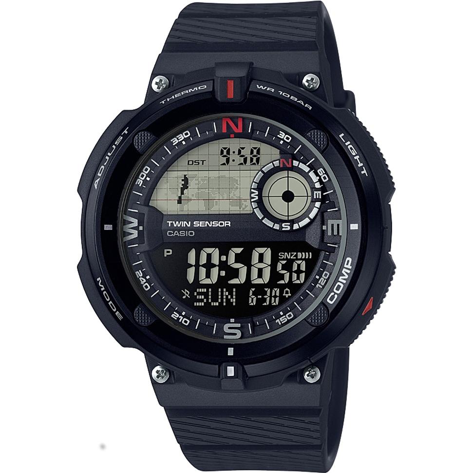 Casio OutGear Twin Sensor (Digital Compass/Thermometer) SGW-600H-1BER, 100M WR, World Time, £39.99 @ Argos Ebay