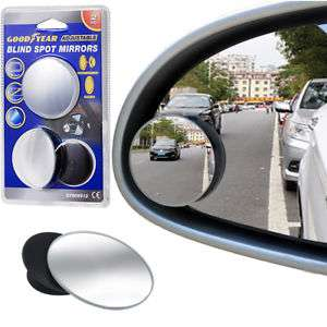 Goodyear Blind Spot Stick-On Mirrors Adjustable Protectection  £3.99 Delivered @ eBay ThinkPrice