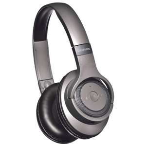 Goodmans Studio Bass Wireless Headphones - Grey/Beige £10 @ B&M (In-Store)
