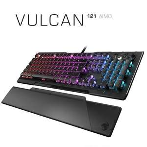 Roccat Vulcan 121 Aimo RGB Mechanical Keyboard - Titan Switches £99.99 delivered @ Box