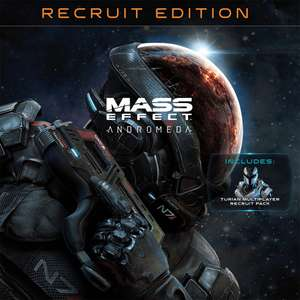 Mass Effect: Andromeda (PS4) – Standard Recruit Edition £4.99 / Deluxe Edition £6.49 @ Playstation Network