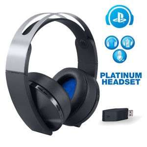 Sony Wireless PS4 Headset Platinum £99.99 Argos (Was £129.99)
