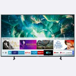 "Samsung UE55RU8000 55"" Smart 4K Premium UHD TV with HDR10+, Dynamic Crystal Colour, Game Mode, Apple TV and Supreme Motion £799 ao.com"