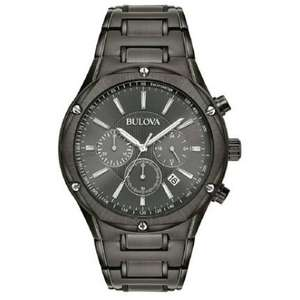 3e1180aa6 Bulova Men's Black Stainless Steel Chronograph Watch 98B286 Now £99 @ Argos  - (Free