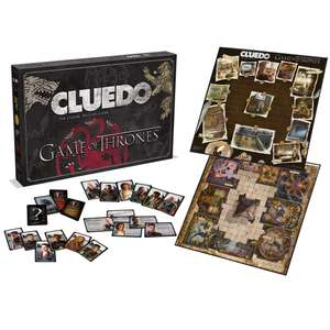 Game of Thrones Cluedo Mystery Board Game NOW £14.99 (Prime) / £19.48 (non Prime) at Amazon