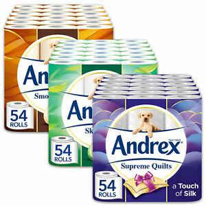 Andrex Toilet Tissue, 54 Rolls for £21.83 @ avantgardebrands eBay free delivery