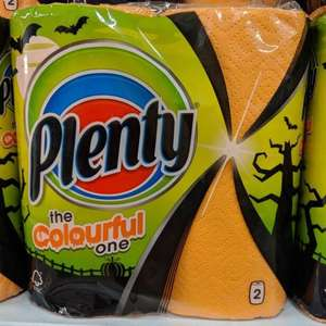 Poundstretcher - Plenty the colourful one Kitchen Roll - 2 pack (150 sheets) £1