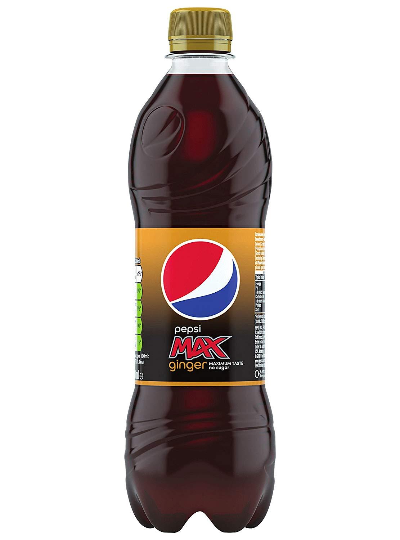 Superdrug - Pepsi Max Ginger 600ml -12p