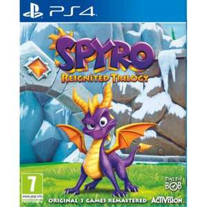 Spyro Reignited Trilogy PS4 - £18 at Tesco in store