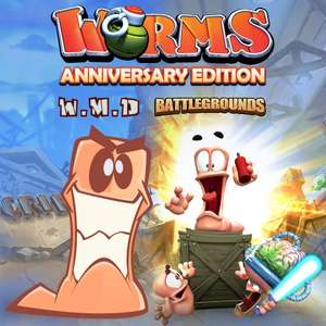 Worms Anniversary Edition (PS4) £6.49 @ Playstation Network