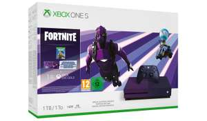 Special edition purple Xbox One S with free game (Anthem or Battlefield V) - £199.99 @ Argos