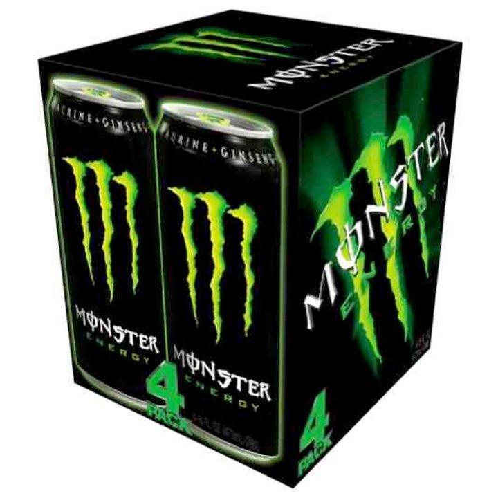 Monster energy  4 pack - £3.29 at Premier Store