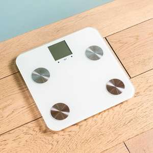 Seven-in-One Body Analysing Bathroom Scale in Black or Grey £4.98 delivered @ Groupon