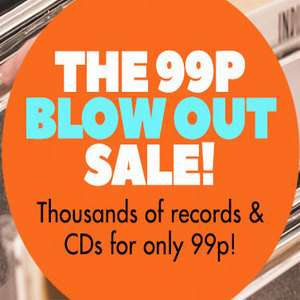 Juno records 99p sale: Vinyl & CD