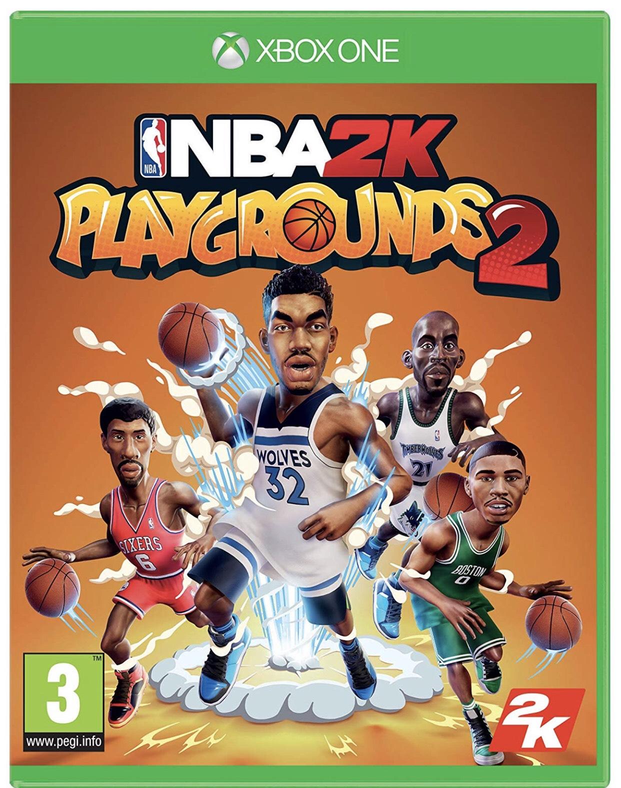 NBA 2K Playgrounds 2 (Xbox One) @ Amazon - £8.99 Prime (+£2.99 P&P non-Prime)