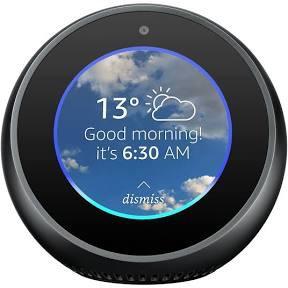 Amazon Echo Spot Smart Alarm Clock - £99.99 @ Amazon