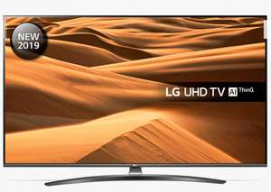 """LG 65UM7660PLA LED HDR 4K Ultra HD Smart TV, 65"""" with Freeview Play/Freesat HD, Ultra HD Certified, Dark Silver £899 @ John Lewis"""