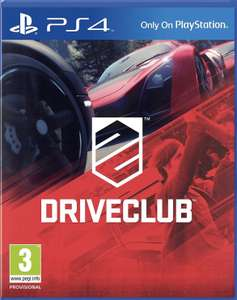 Driveclub (PS4) preowned - £4.31 (With Code) @ Musicmagpie