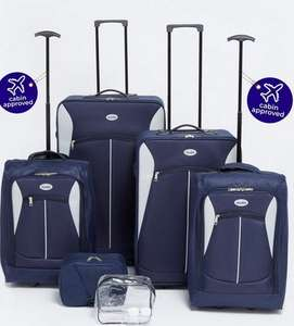 6 piece luggage set was £159.99 NOW £39.99 free delivery @ Studio