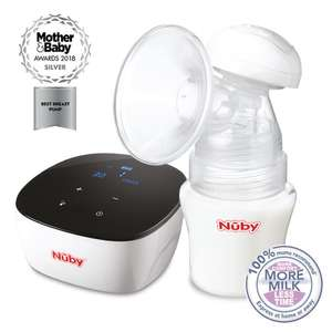 Nuby Natural Touch Ultimate Double Electric Breast Pump - £80 @ Nuby Baby
