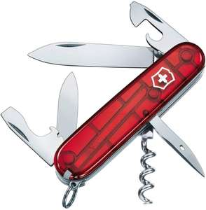 Spartan Swiss Army Knife Translucent Red @ Amazon - £11.24 Prime / £15.73 non-Prime