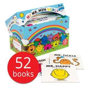 Mr Men Books - 52 Books - £25 Delivered (With Code) @ The Book People