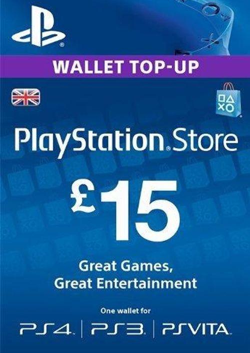PlayStation Network Card - £15 (PS Vita / PS3 / PS4) £13.99 at CDkeys