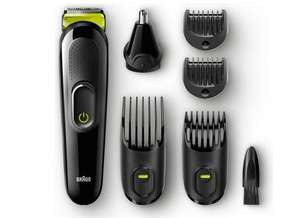 Braun MGK3021 6-in-1 Beard Trimmer and air Clipper for £14.99 @ Argos (+2 years guarantee)