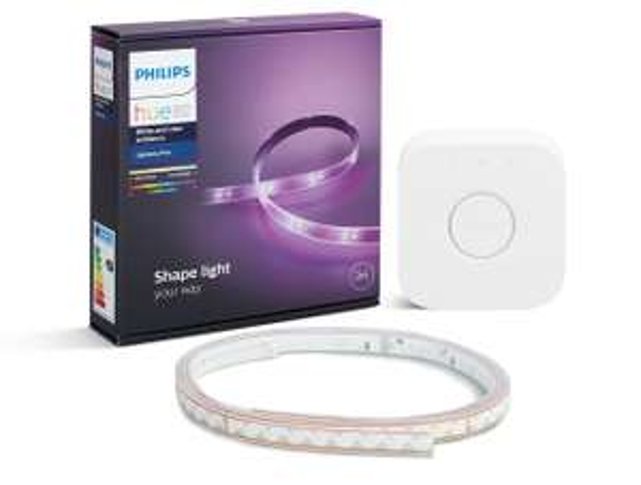 Philips  Hue Personal Wireless Lighting 2m Lightstrip with Bridge £74.99 Amazon