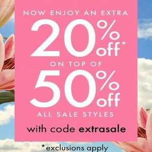 Kate Spade New York Sale 50% off plus an extra 20% w.code