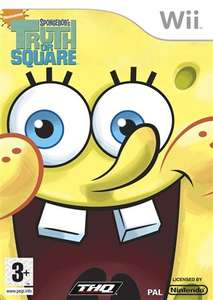 I'M READY!!! SpongeBob Truth or Square Wii (ALSO playable on Wii U) £2.50 in-store + 2YR warranty @ CeX or just +£1.50 p&p for online orders