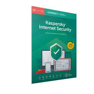 Kaspersky Internet Security 2019 10 Devices 1 Year £16.99 @ Amazon Deal of the day - 30% off Some Kaspersky Security Software