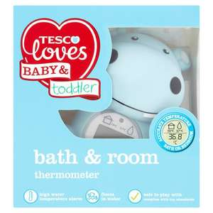 Tesco Fred And Flo Bath And Room Thermometer £3.75