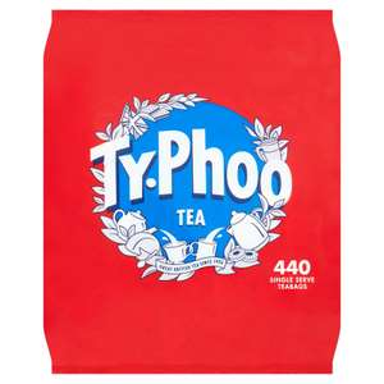 Typhoo teabags 440pk Instore only - £2.25 @ ASDA