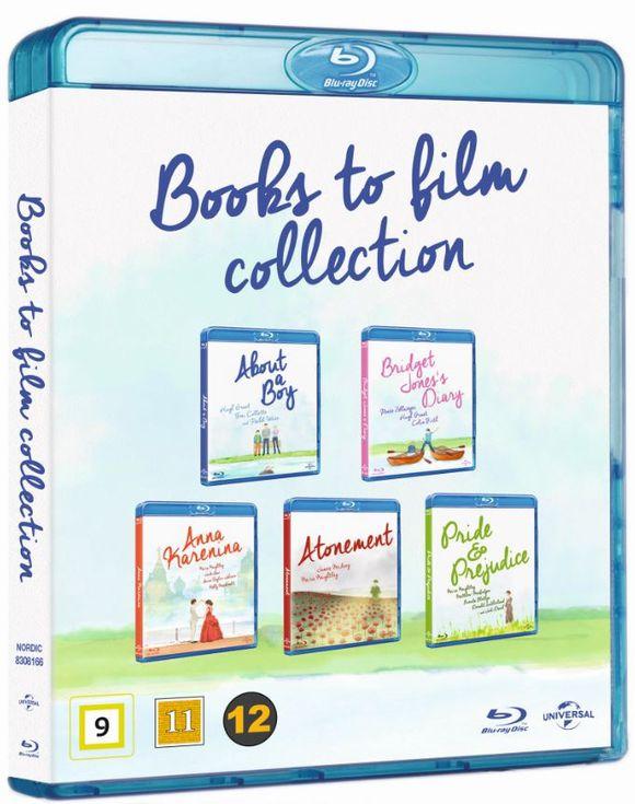 About A Boy / Bridget Jones Diary / Anna Karenina / Atonement /Pride & Prejudice Books to Film Collection BluRay £7.50 delivered @ Coolshop