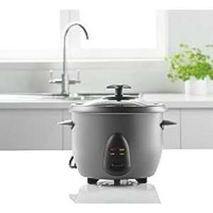1 Litre Rice Cooker GRC101SS-18 £10 @ Asda