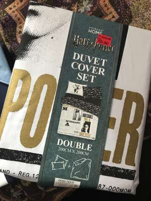 Single, double and king size bedding - Harry Potter Double Duvert Cover Set £5 at Primark ilford