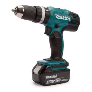 Makita DHP453 18V Li-ion Combi Drill with Case and 101 Piece Accessory Set £124 @ Toolstop